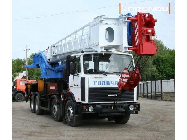 Автокран 50 тонн, 34 метра, МЗКТ